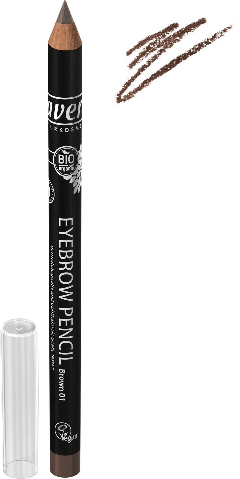 Lavera Trend Eyebrow Pencil Brown 01, 1.14g