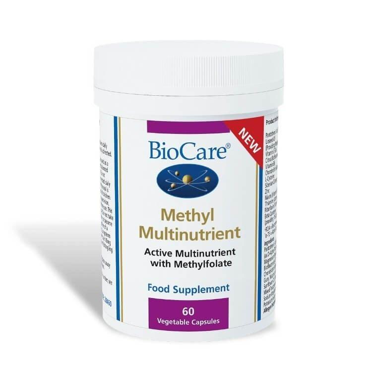 Biocare Methyl Multinutrient 60 veg Capsules
