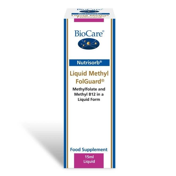 Biocare Nutrisorb® Liquid Methyl FolGuard 15ml