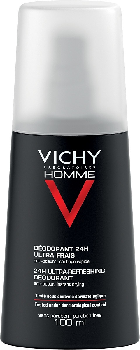 Vichy Homme Ultra-Refreshing Deodorant Spray 100ml