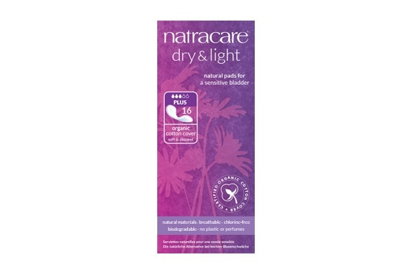 Natracare Dry & Light Plus Incontinence Pads 16's