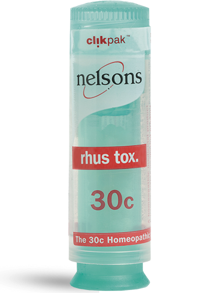Nelsons Rhus Tox 30c ClikPak 84 tablets