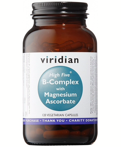 Viridian High Five B-Complex with Magnesium Ascorbate Veg Caps 120caps