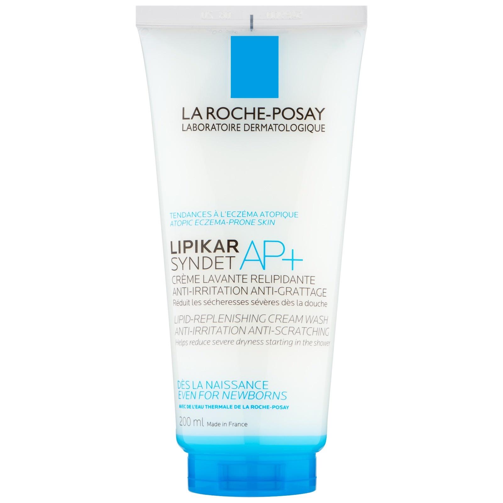 La Roche-Posay Lipikar Syndet AP+ - Lipid Replenishing Cream Wash 200ml