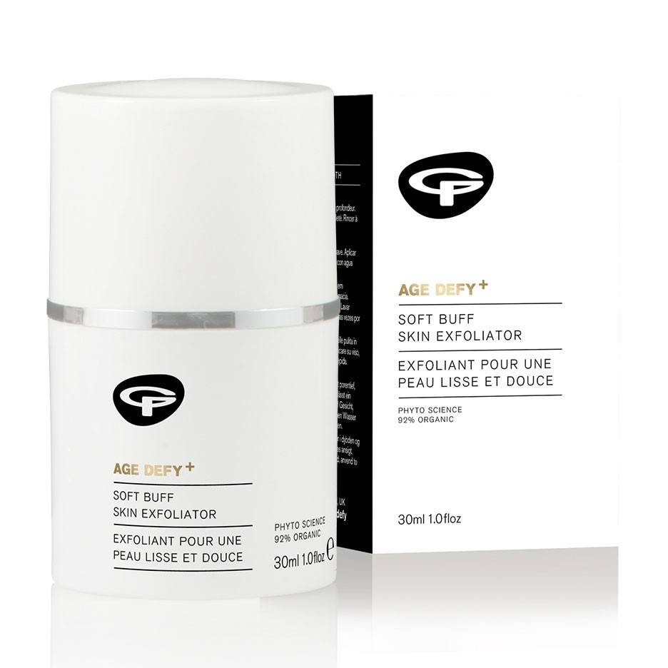 Green People Age Defy+ Soft Buff Skin Exfoliator 30ml