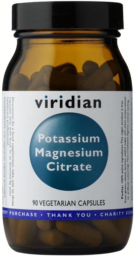 Viridian Potassium Magnesium Citrate Veg Caps 90caps