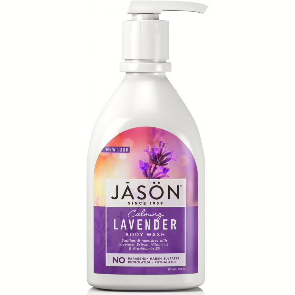 Jason Lavender Satin Shower Body Wash With Pump 887ml
