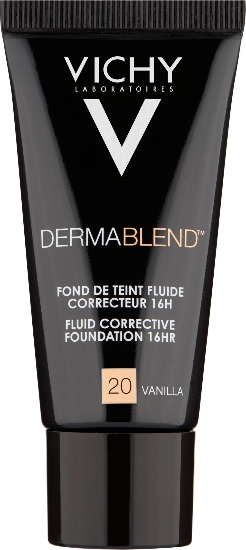 Vichy Dermablend Fluid Corrective Foundation Vanilla 20 30ml