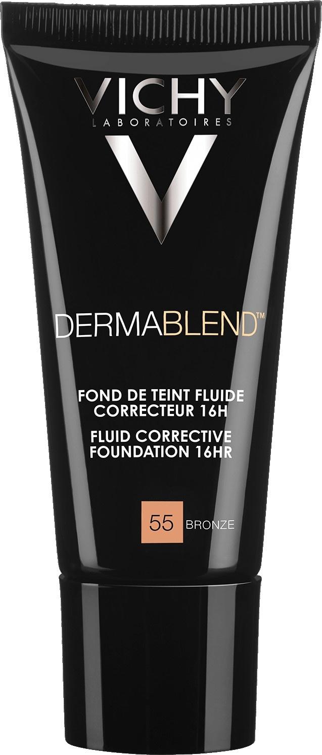 Vichy Dermablend Corrective Fluid Foundation 55 Bronze 30ml
