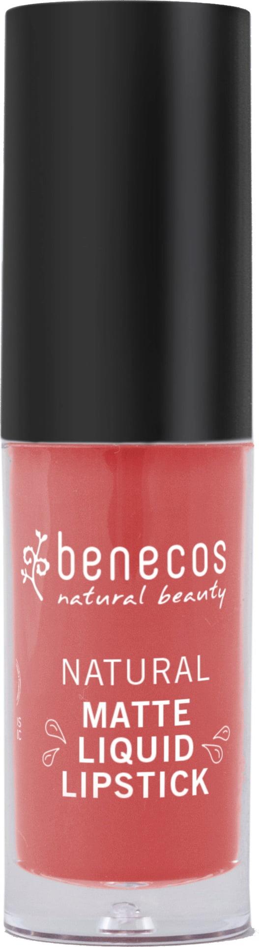 Benecos Natural Matte Liquid Lipstick Coral Kiss 5ml