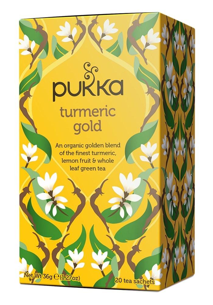 Pukka Turmeric Gold Tea x 20 bags