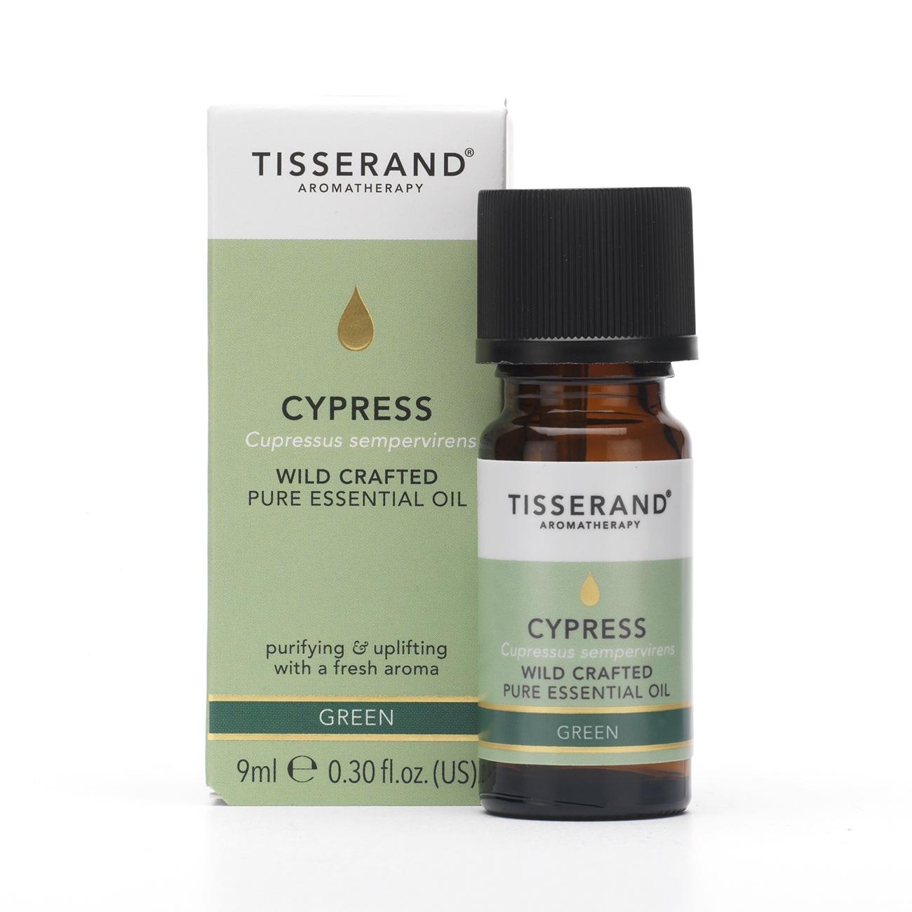 Tisserand Cypress Wild Crafted Essential Oil 9ml