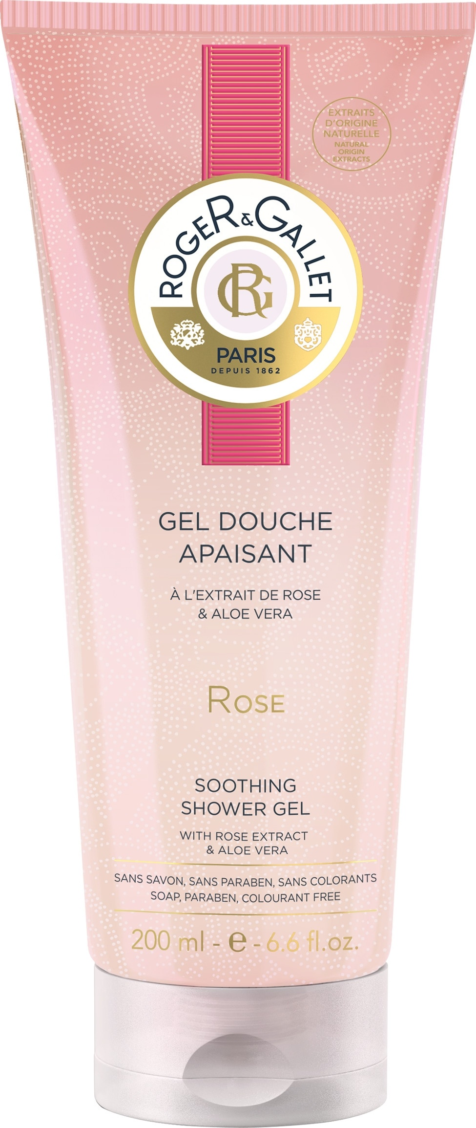 Roger & Gallet Rose Shower Gel 200ml