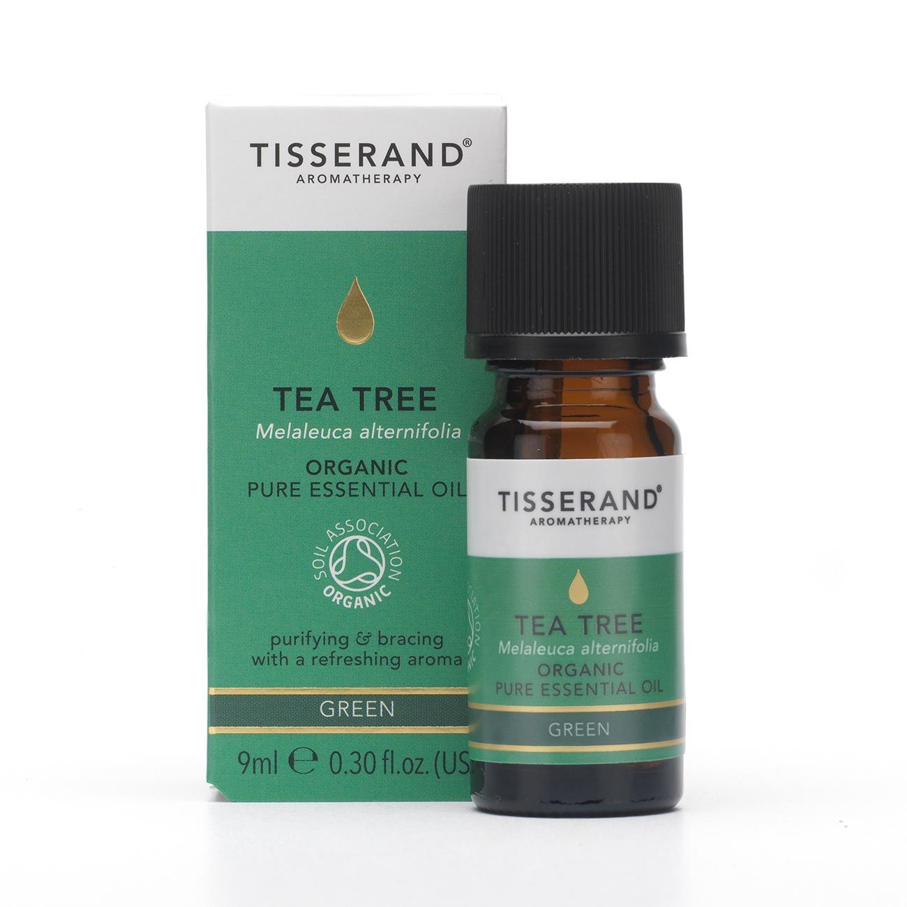 Tisserand Tea Tree Organic Essential Oil (9ml)