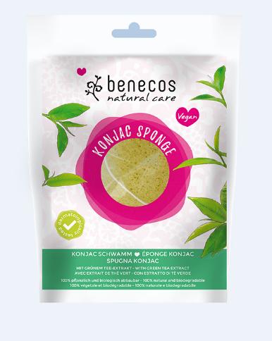 Benecos Natural Konjac Sponge Green Tea