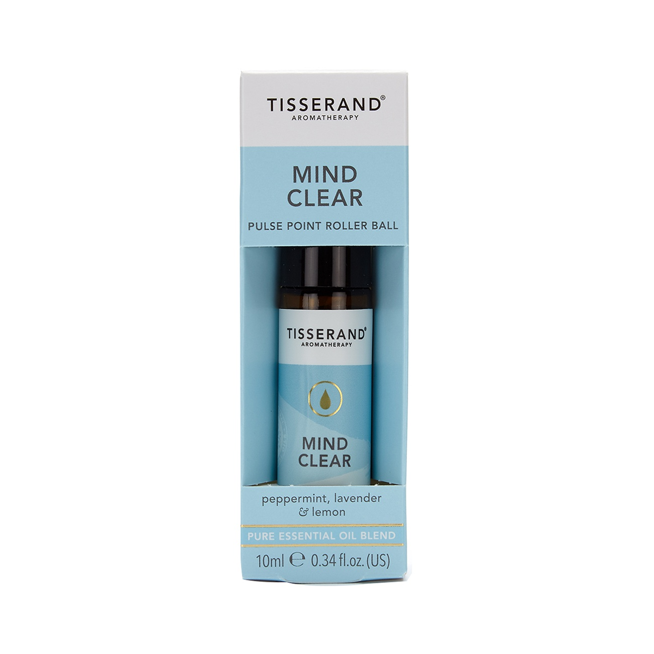Tisserand Mind Clear Aromatherapy Roller Ball 10ml