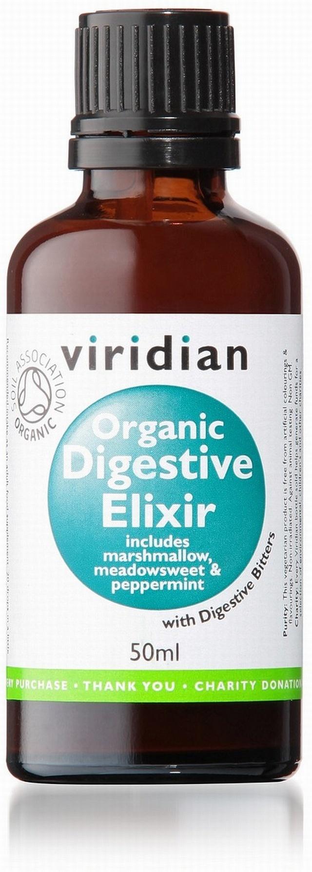 Viridian Organic Digestive Elixir 50ml