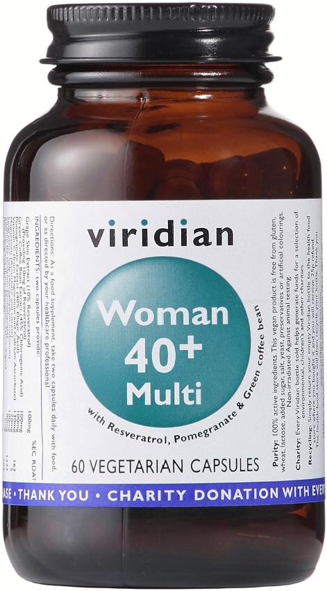 Viridian Woman 40+ Multi Veg Caps 60caps