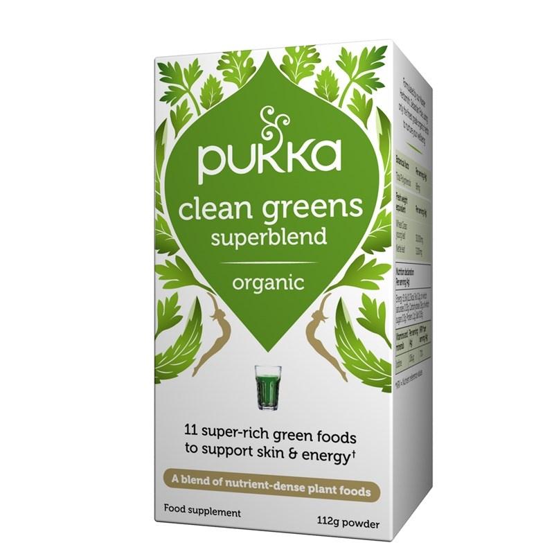 Pukka Clean Greens Powder 112g