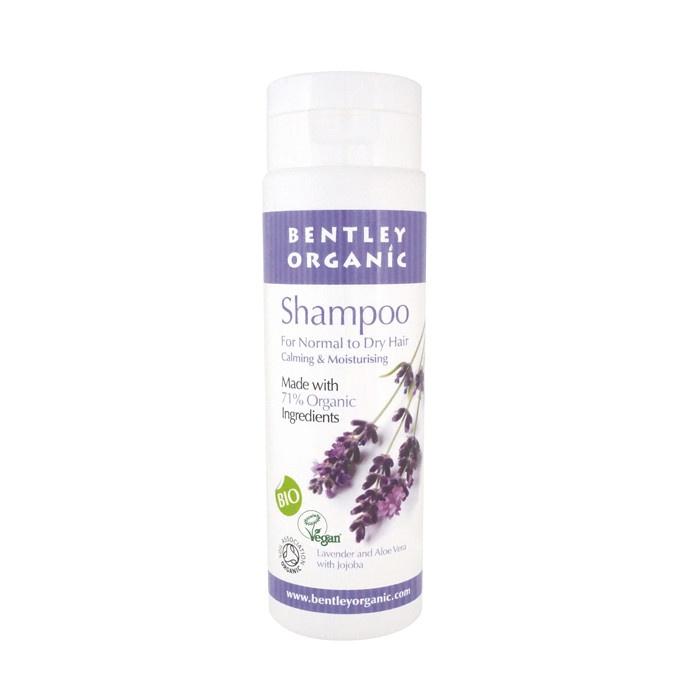 Bentley Organic Natural Shampoo with Lavender and Aloe Vera with Jojoba 250ml