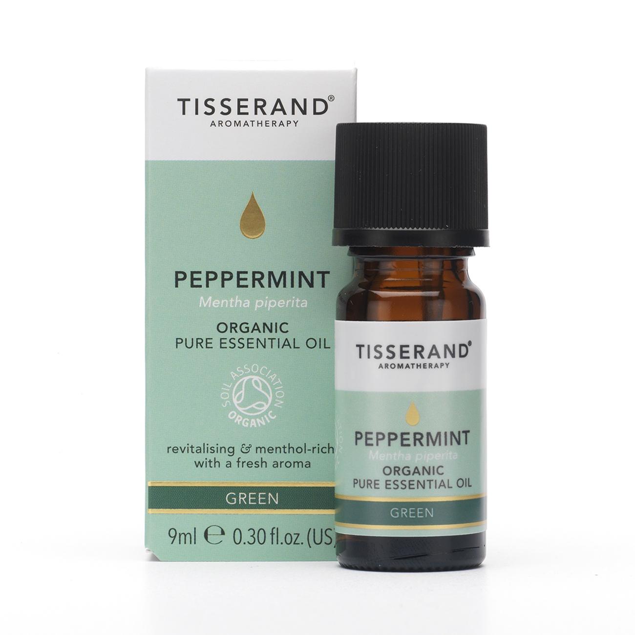 Tisserand Peppermint Organic Essential Oil 9ml