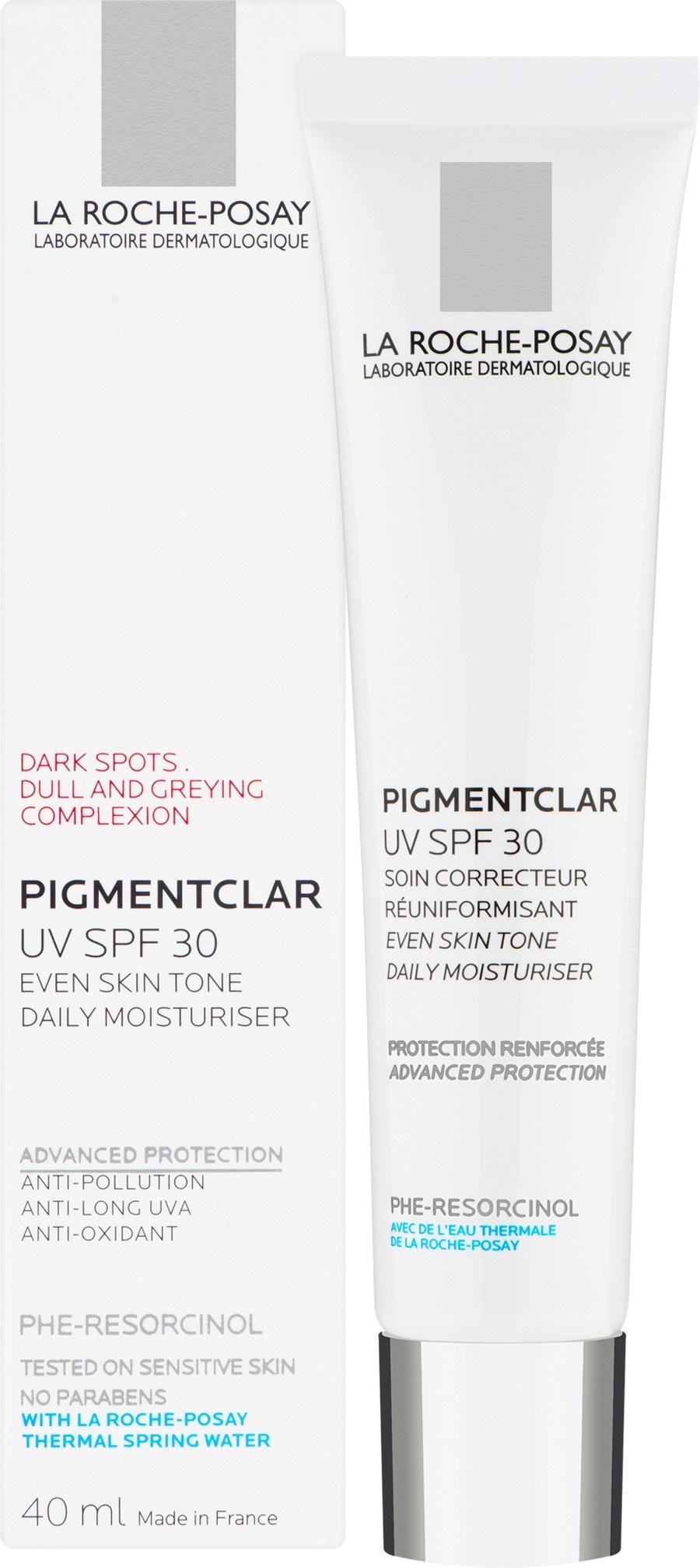 La Roche-Posay Pigmentclar UV SPF30 - Skin Tone Correcting Daily Moisturiser 40ml