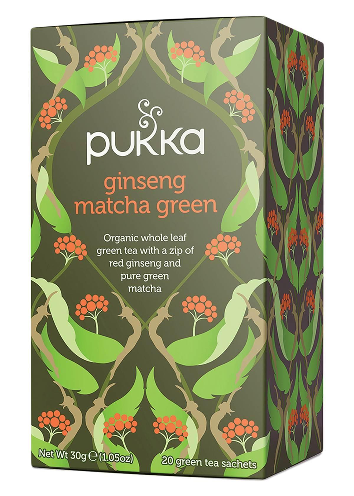 Pukka Ginseng Matcha Green Tea x 20 teabags