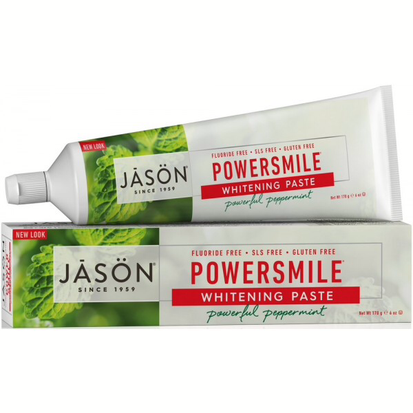 Jason Powersmile Whitening Peppermint paste Fluoride Free 170g