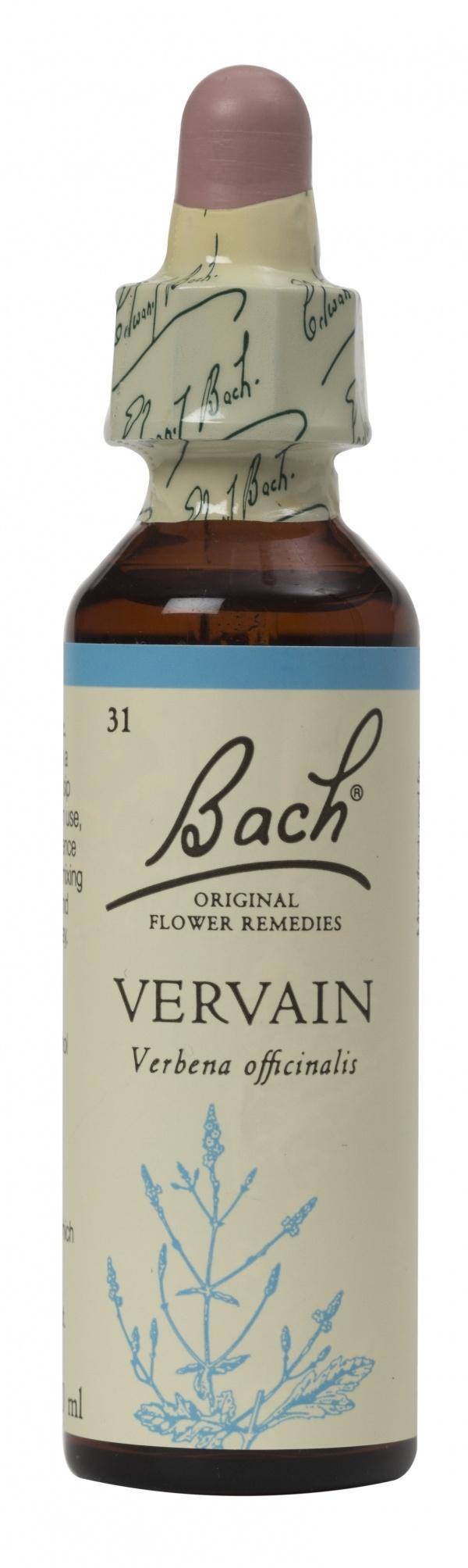 Bach Flower Remedy Vervain 20ml