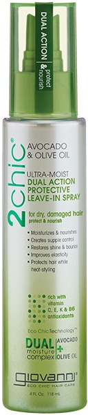 Giovanni 2chic Avocado & Olive Oil Ultra-Moist Leave-In Spray 118ml