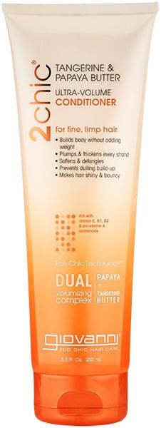 Giovanni 2chic Papaya & Tangerine Butter Ultra-Volume Conditioner 250ml