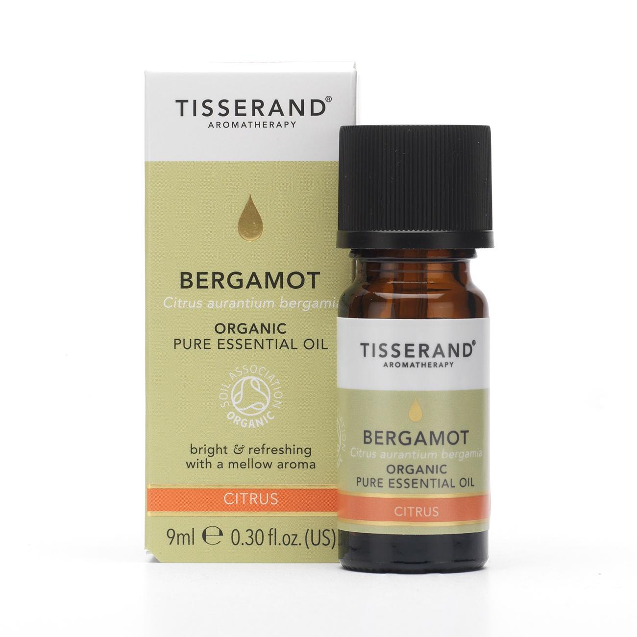 Tisserand Bergamot Organic Essential Oil (9ml)