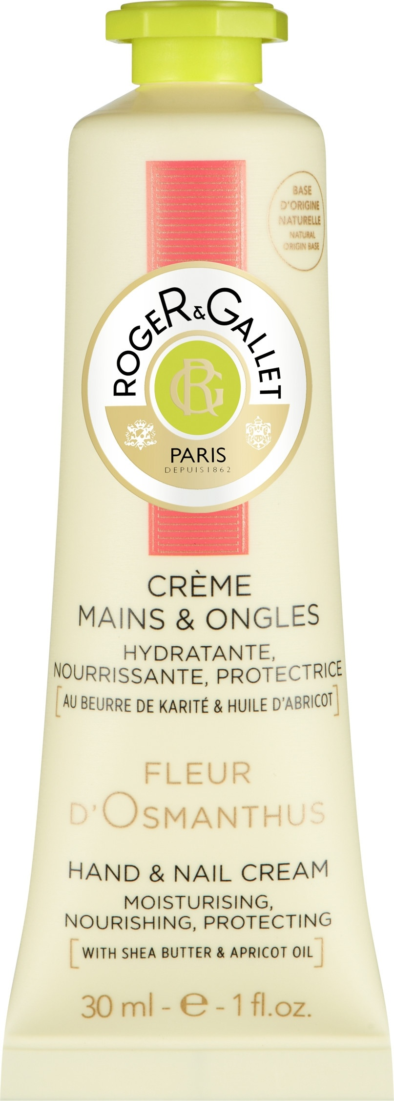 Roger & Gallet Fleur D'Osmanthus Hand and Nail Cream 30ml