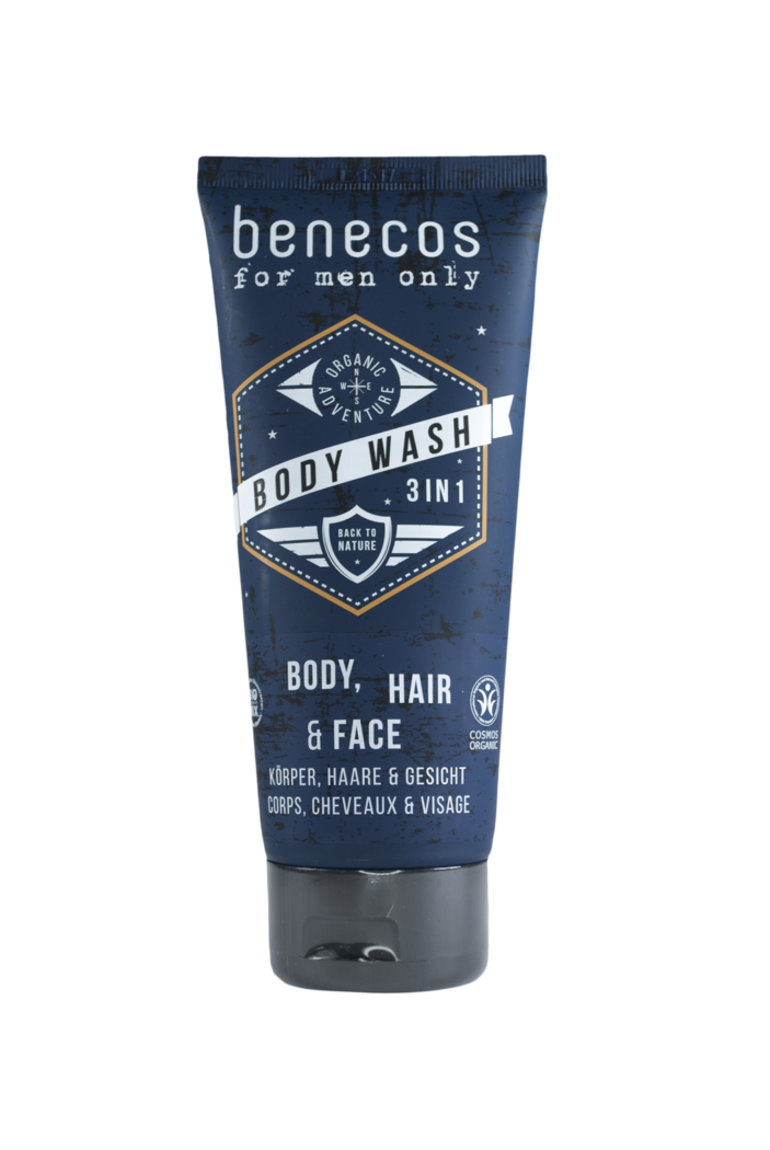 Benecos for men only 3in1 Body Wash 200ml