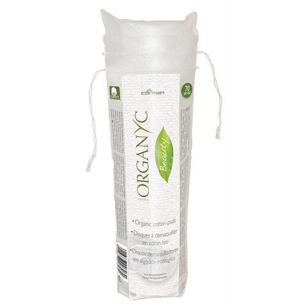 Organyc Organic Cotton Wool Pads - 70 pads per pack