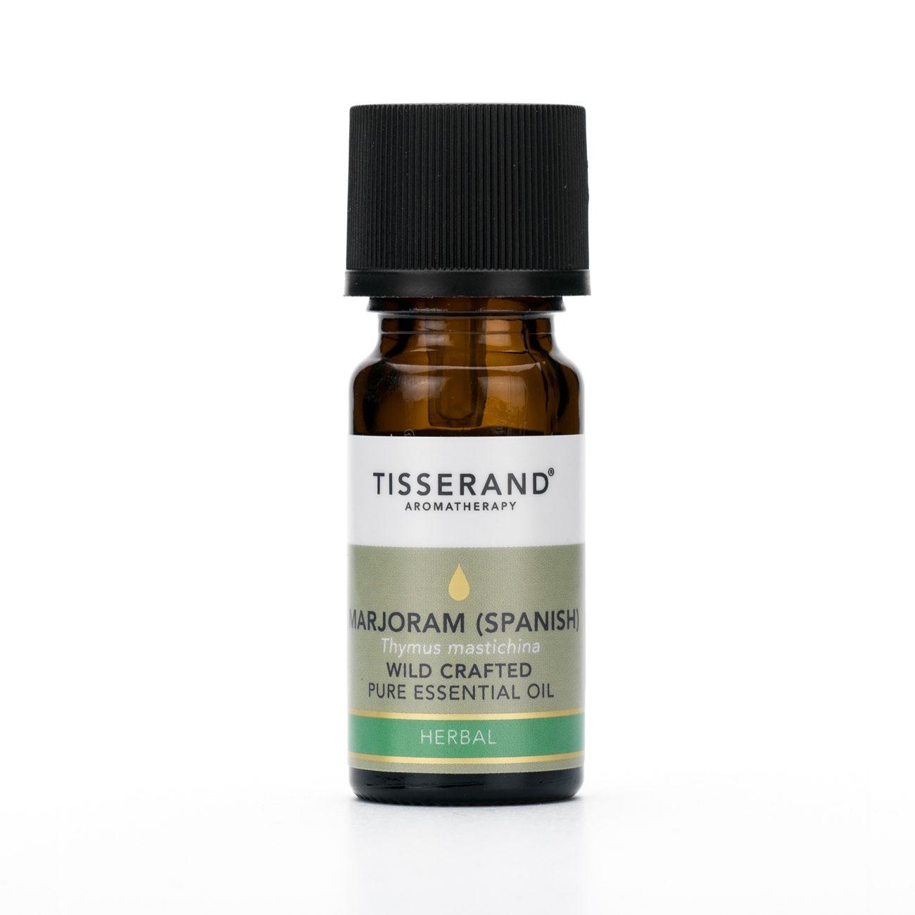 Tisserand Marjoram Spanish Wild Crafted Essential Oil 9ml