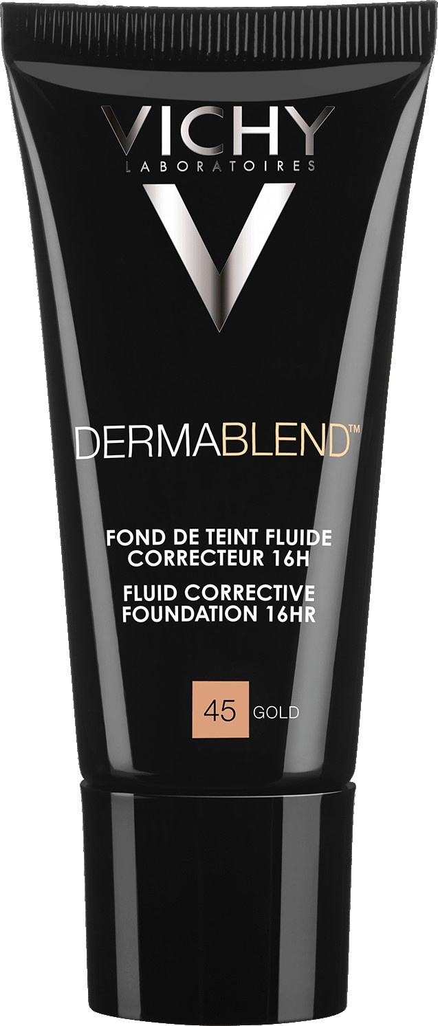 Vichy Dermablend Corrective Fluid Foundation 45 Gold 30ml