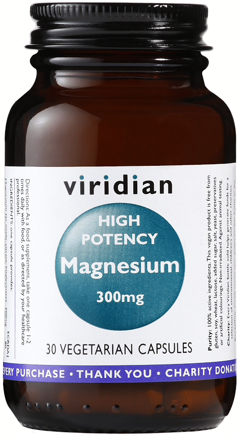 Viridian High Potency Magnesium Veg Caps 30caps