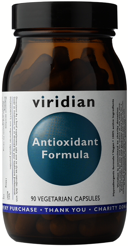 Viridian Antioxidant Formula Veg Caps 90caps
