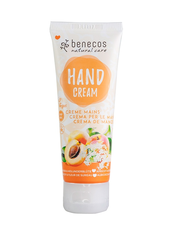 Benecos Hand Cream Apricot and Elderflower 75ml