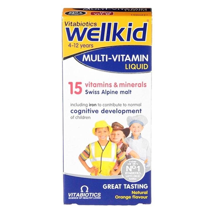 Vitabiotics Wellkid Multivitamin Liquid 150ml
