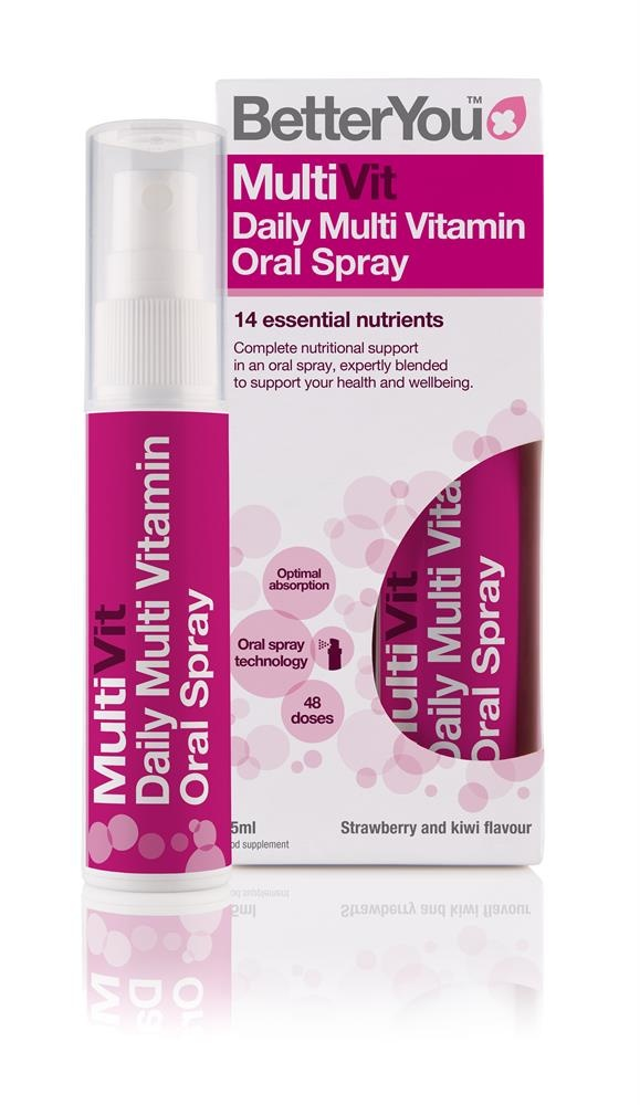 BetterYou MultiVit Multi Vitamin Oral Spray 25ml