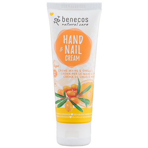 Benecos Natural Hand and Nail Cream Sea Buckthorn and Orange 75ml