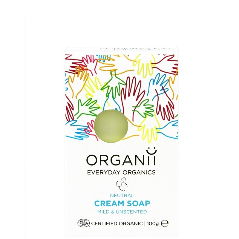 Organii Fragrance Free Cream Soap Neutral 100g