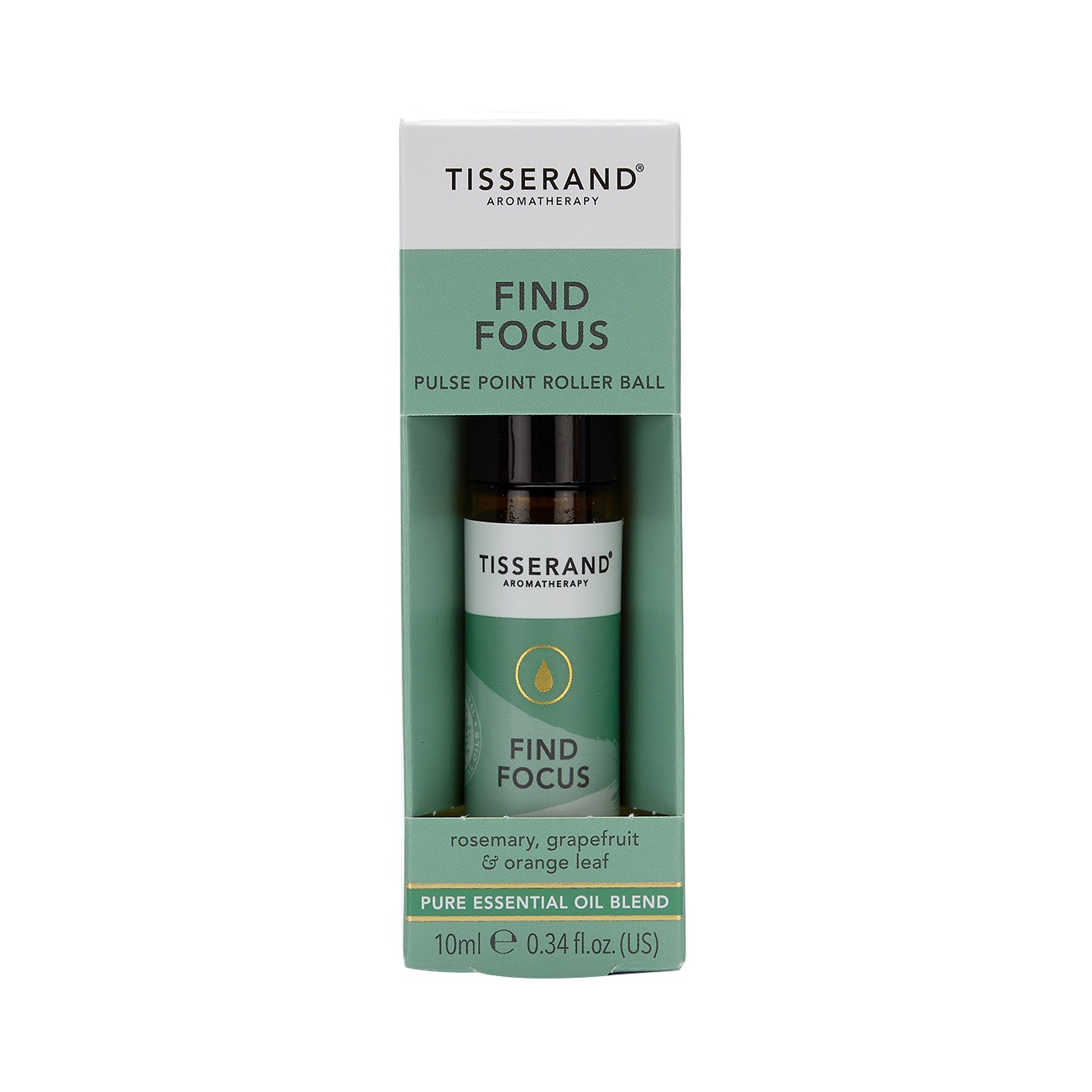 Tisserand Find Focus Aromatherapy Roller Ball 10ml