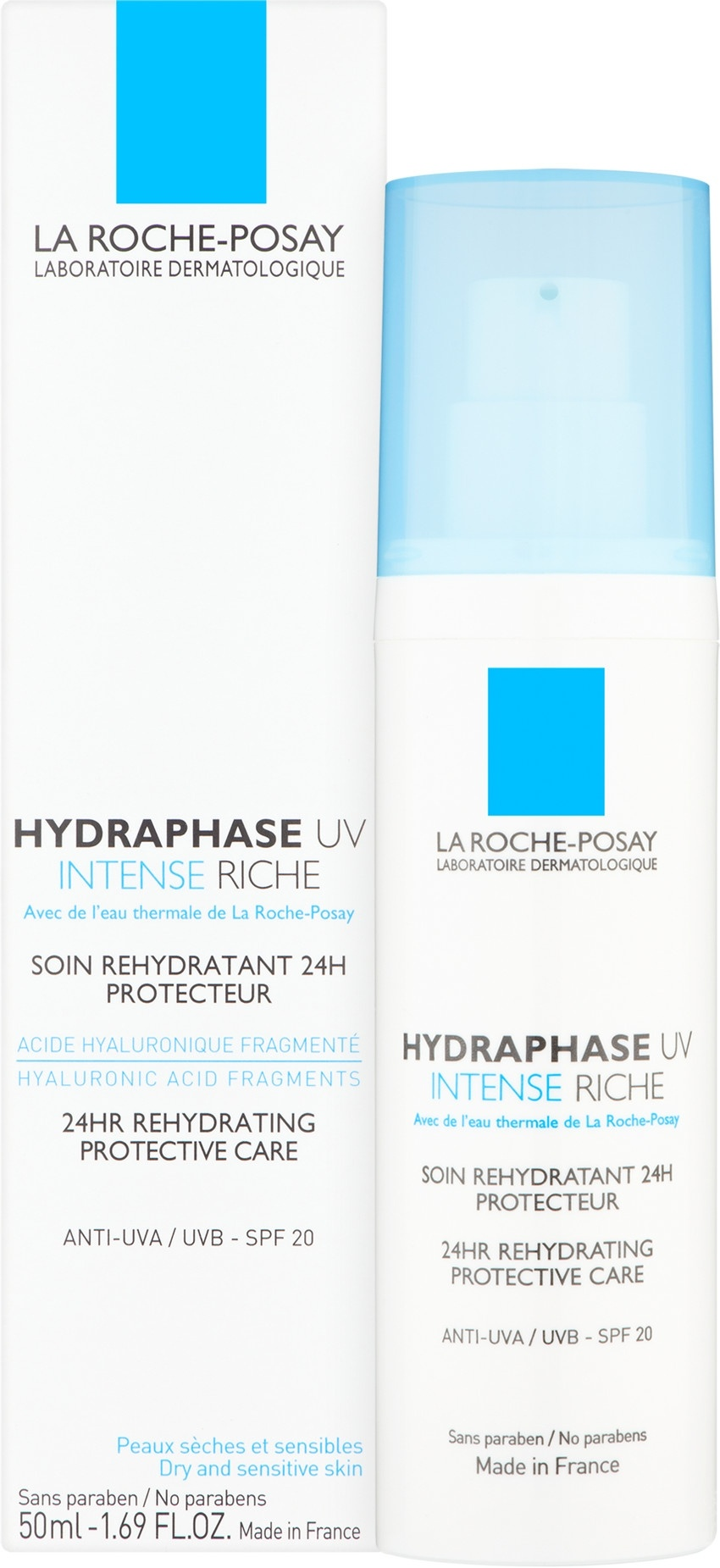 La Roche-Posay Hydraphase Intense UV Rich Cream SPF20, 50ml