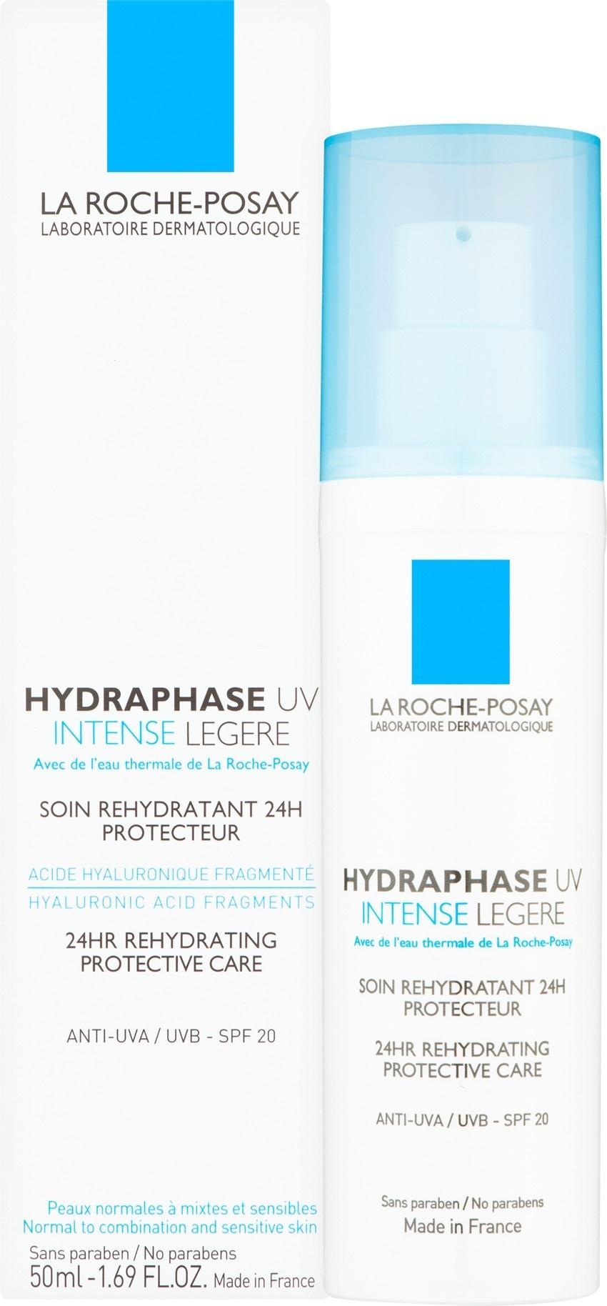 La Roche-Posay Hydraphase UV Intense Legere - Light - SPF20, 50ml