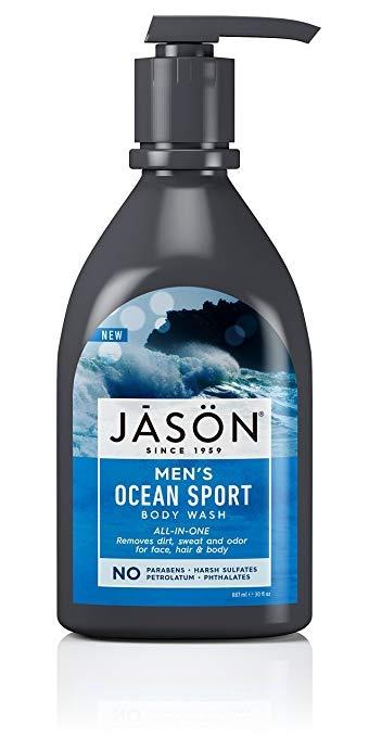 Jason ALL-IN-ONE Men's Ocean Sport Body Wash 887ml