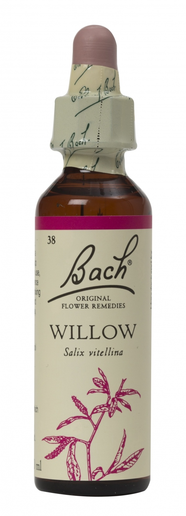 Bach Flower Remedy Willow 20ml