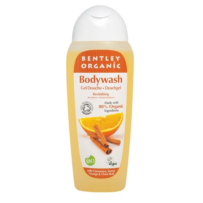 Bentley Organic Revitalising Bodywash with Cinnamon, Sweet Orange and Clove Bud 250ml